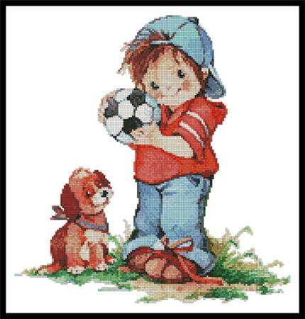click here to view larger image of Soccer Boy (chart)