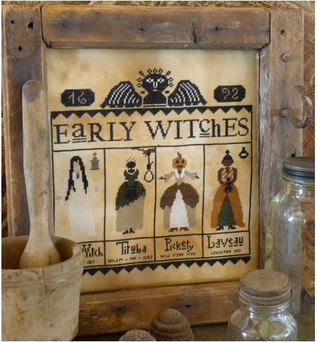 click here to view larger image of Early Witches (chart)
