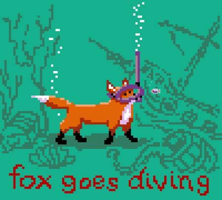 click here to view larger image of Fox Goes Diving (chart)
