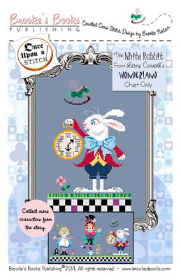 click here to view larger image of Wonderland - White Rabbit (chart)