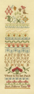 click here to view larger image of Colonial Band Sampler (chart)