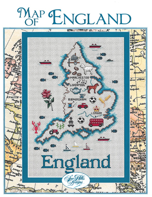 click here to view larger image of England Map (chart)