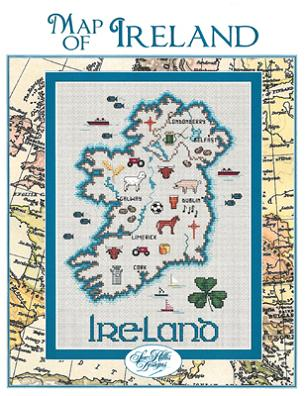 click here to view larger image of Ireland Map (chart)