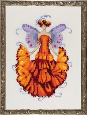 click here to view larger image of Marigold (Pixie Blossom Collection) (chart)