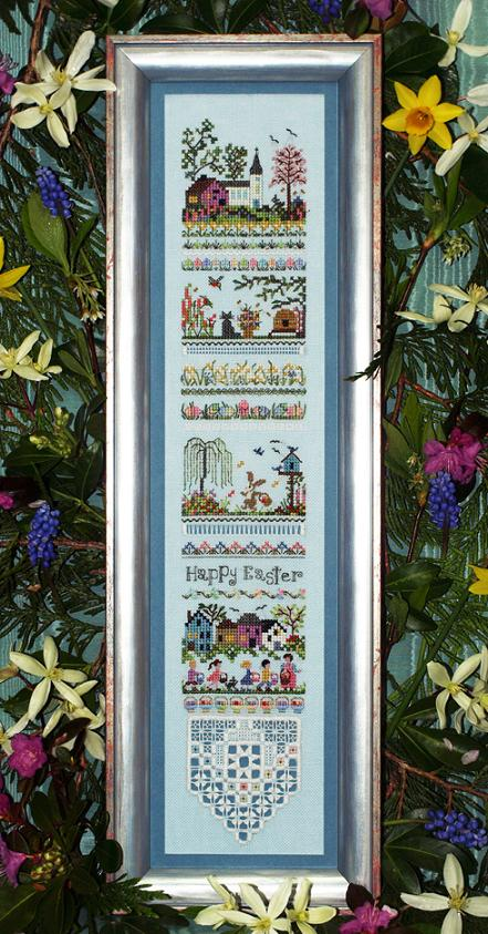 click here to view larger image of Easter Egg Hunt Sampler (chart)