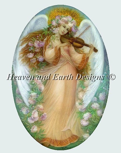 click here to view larger image of Angel With Violin (chart)