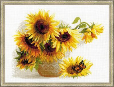 click here to view larger image of Hot Summer (counted cross stitch kit)