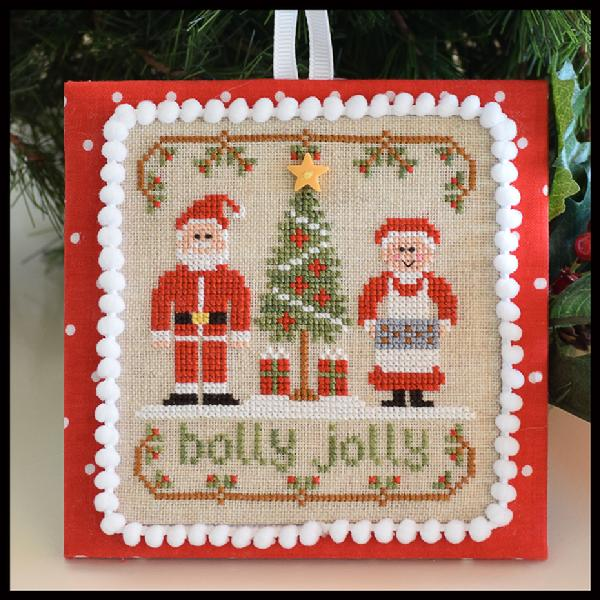 click here to view larger image of Holly Jolly - Classic Ornament Series 8 (chart)