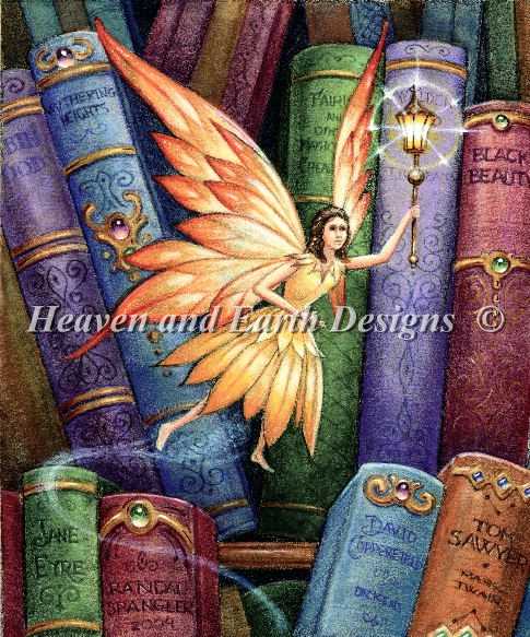 click here to view larger image of Library Fairy IV (chart)
