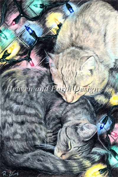 Christmas Kitties - click here for more details about chart