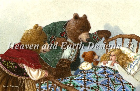 click here to view larger image of Goldilocks and The Three Bears (chart)
