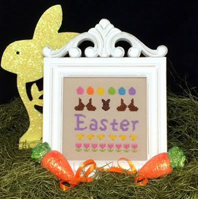 click here to view larger image of Easter Celebration Kit (counted cross stitch kit)