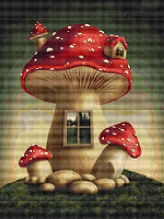 click here to view larger image of Mushroom Home 1 (chart)