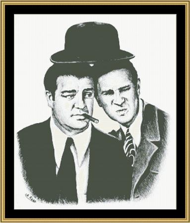 click here to view larger image of Abbott and Costello (chart)