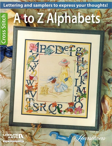 click here to view larger image of A to Z Alphabets (book)