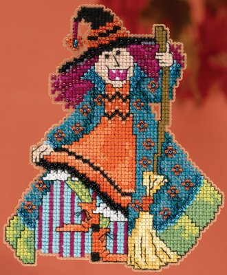 click here to view larger image of Mimi - Hocus Pocus Trilogy (counted cross stitch kit)