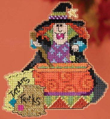 click here to view larger image of Miranda - Hocus Pocus Trilogy (counted cross stitch kit)