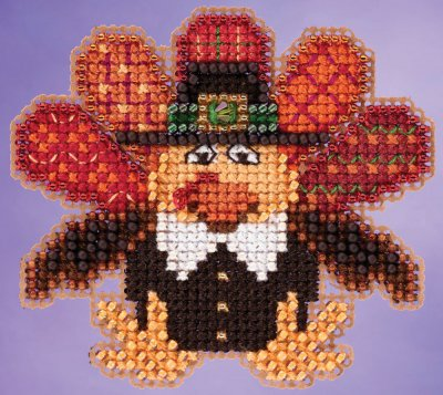 click here to view larger image of Tom Turkey (counted cross stitch kit)