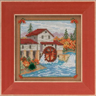 click here to view larger image of Country Mill - Country Lane (counted cross stitch kit)
