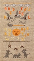 click here to view larger image of Trick or Treat With 3 Playful Kittens (chart)