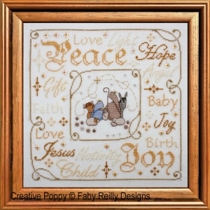 click here to view larger image of Christmas Nativity Frame (chart)