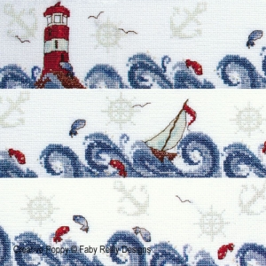 click here to view larger image of High Seas Band -Nautical Decor (chart)