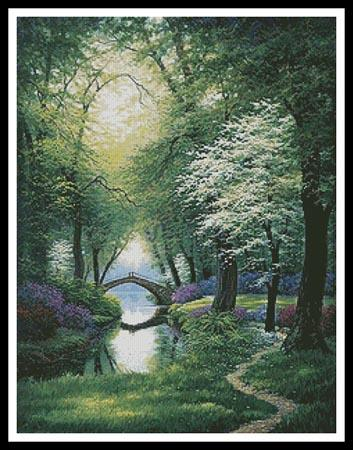 click here to view larger image of Beside Still Waters - Spring  (Charles White) (chart)