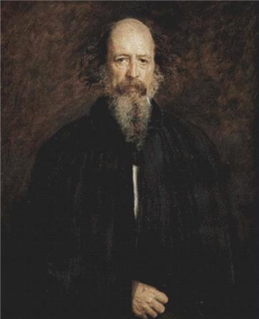 click here to view larger image of Alfred Tennyson (chart)