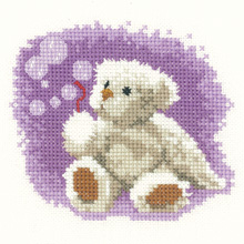 click here to view larger image of Bubbles - Thread Bears (Aida) (counted cross stitch kit)
