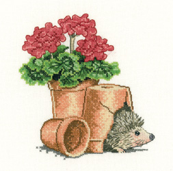 click here to view larger image of Safe Haven - Little Darlings (Aida) (counted cross stitch kit)