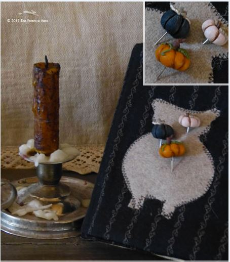 click here to view larger image of Pumpkin Trio Pins (pin)