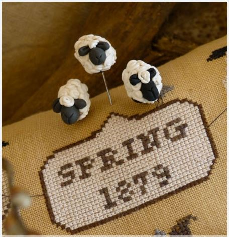 click here to view larger image of Sheep Set Pins (pin)