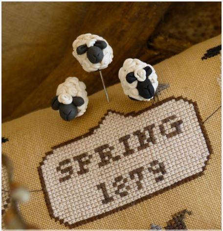 click here to view larger image of Sheep Set Pins (pin)