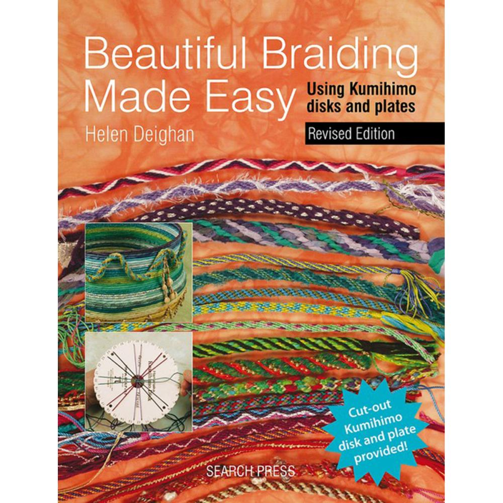 click here to view larger image of Beautiful Braiding Made Easy Using Kumihimo Disks & Plates (book)