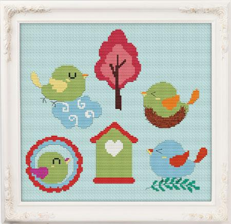 Sweet Bird Collection - click here for more details about chart