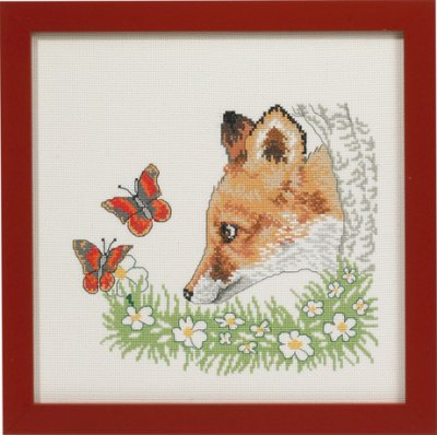 click here to view larger image of Fox (counted cross stitch kit)