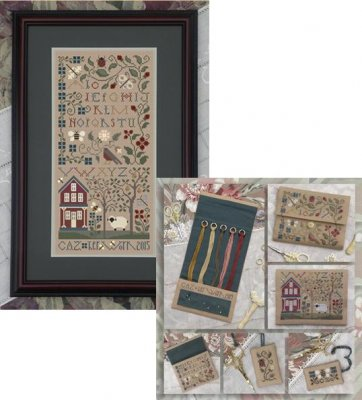 click here to view larger image of Pastoral, The - 3 Designs (chart)