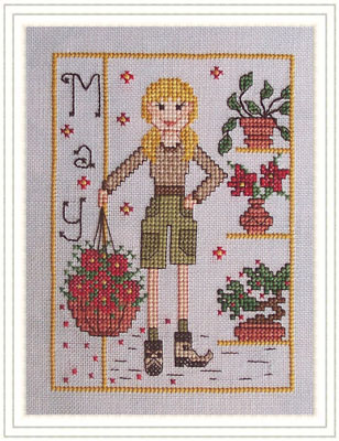 Miss May - Elves of the North Pole - click here for more details about chart