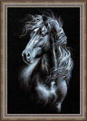 click here to view larger image of Breeze Through Mane (counted cross stitch kit)