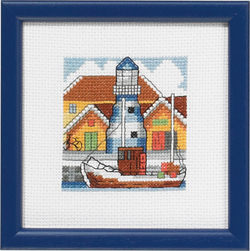 click here to view larger image of Blue Harbour (counted cross stitch kit)