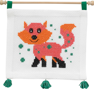 click here to view larger image of MFK Fox (counted cross stitch kit)