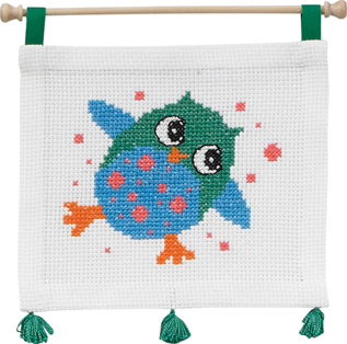 click here to view larger image of MFK Owl (counted cross stitch kit)