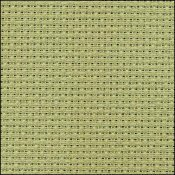 click here to view larger image of Aida 14 Count Basil 12x18 (Zweigart Aida 14ct)