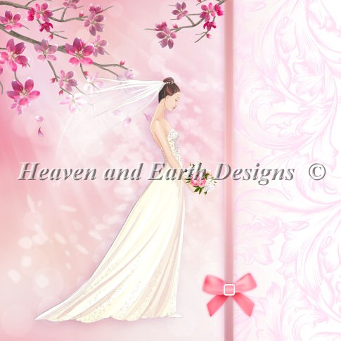 click here to view larger image of Pink Bride (chart)