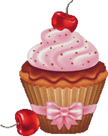 click here to view larger image of Cherry Cupcake (chart)