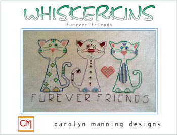 click here to view larger image of Whiskerkins - Furever Friends (chart with charms/buttons)