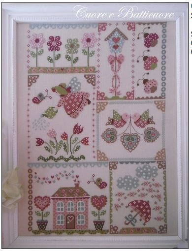click here to view larger image of Spring In Quilt (chart)