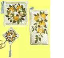click here to view larger image of Orange Blossom Collection (counted cross stitch kit)