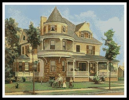 click here to view larger image of Victorian House 2 (chart)