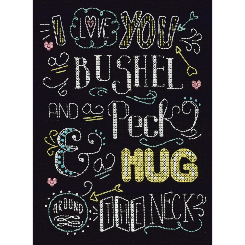 click here to view larger image of Bushel and A Peck (counted cross stitch kit)